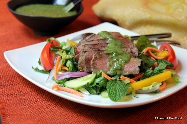 Thai Beef Salad with Spicy Cilantro – Lime Dressing