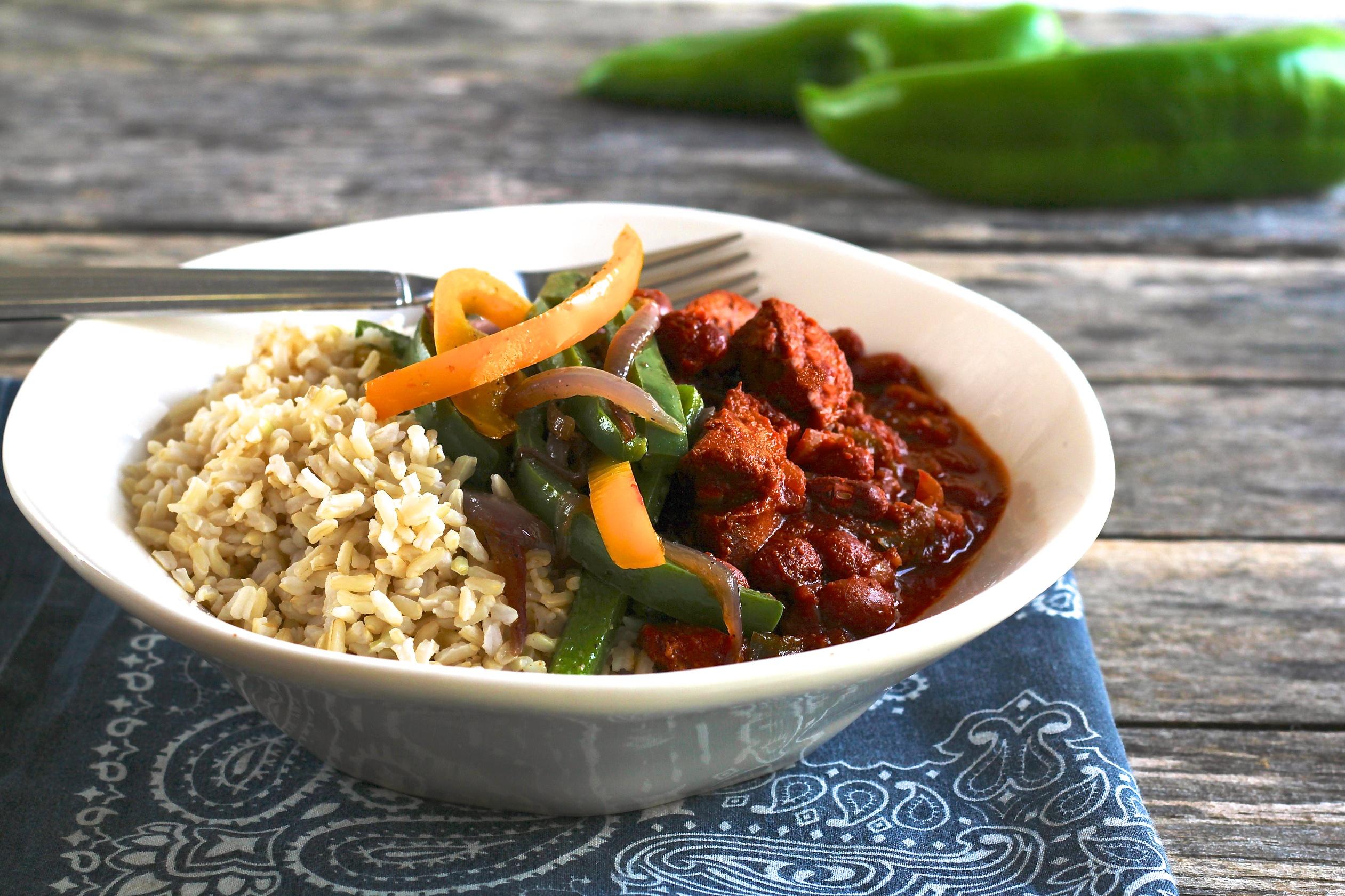 Chicken Chorizo Red Beans and Rice