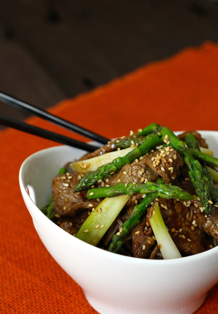 Sesame Beef and Asparagus Stir-Fry | Personal Chef in Memphis TN