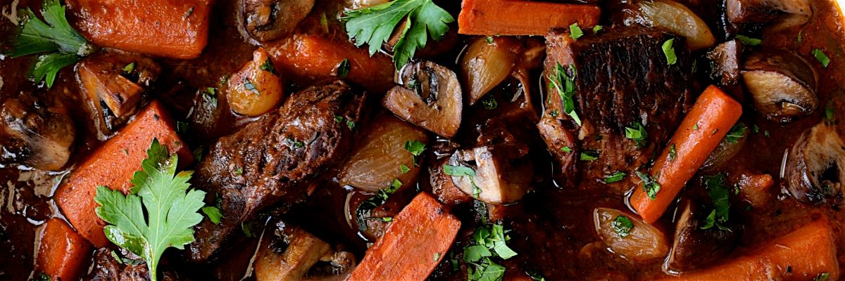 Boneless Beef Short Ribs Bourguignon